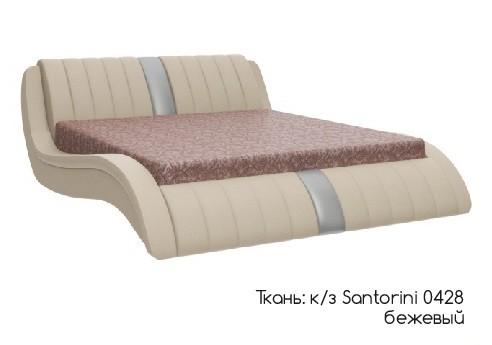 Кровать Эмма экокожа