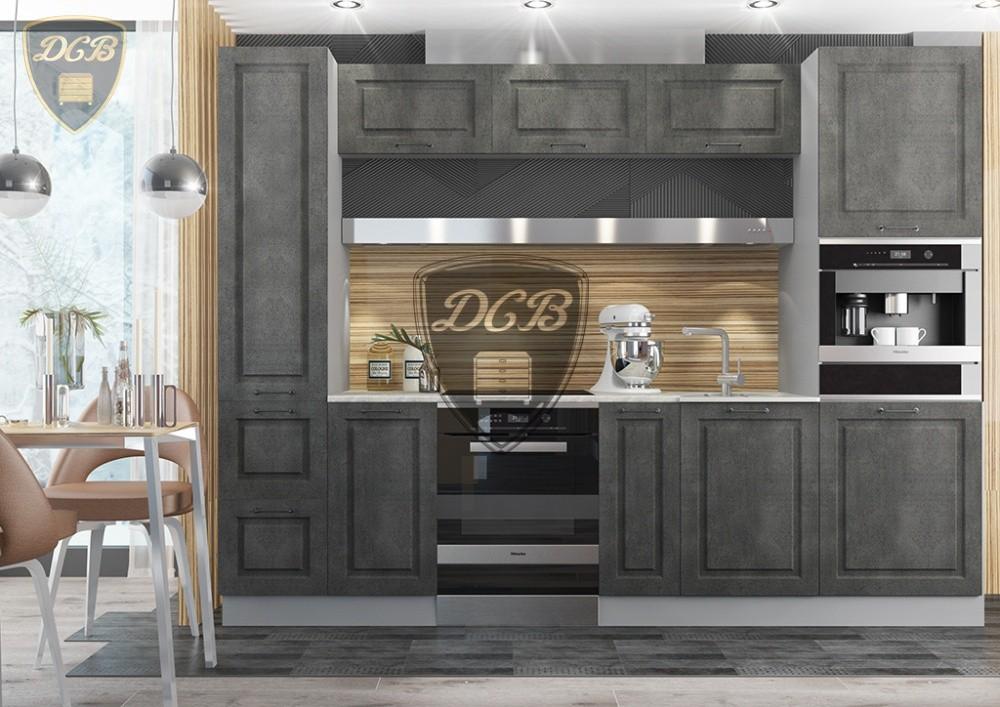 Кухня Капри темный камень