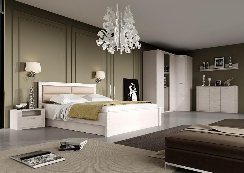Спальня Элана (Бодега белая)