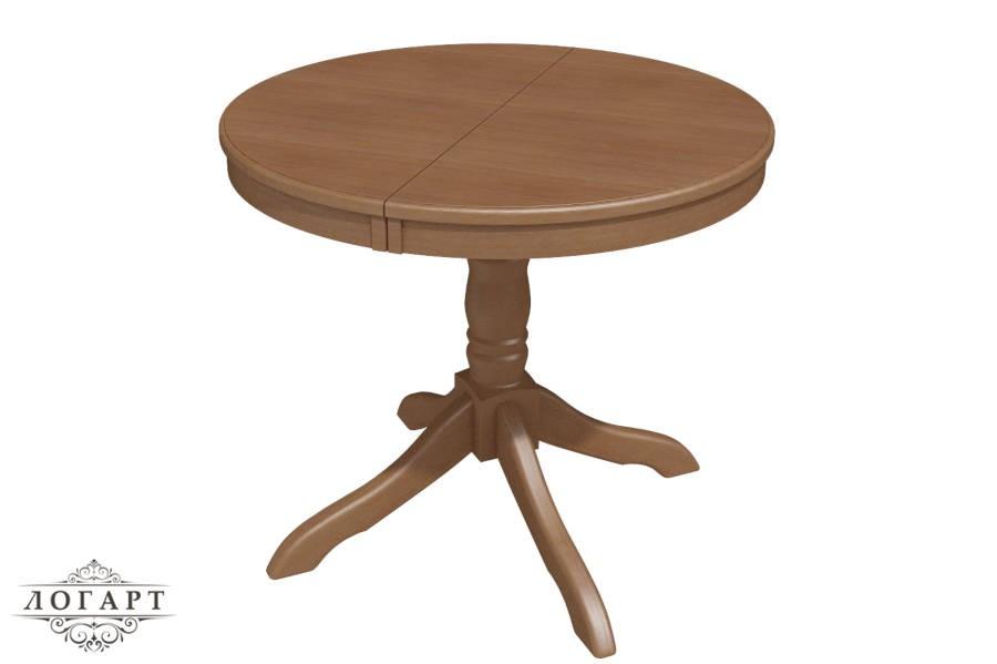 Стол деревянный круглый Медведь