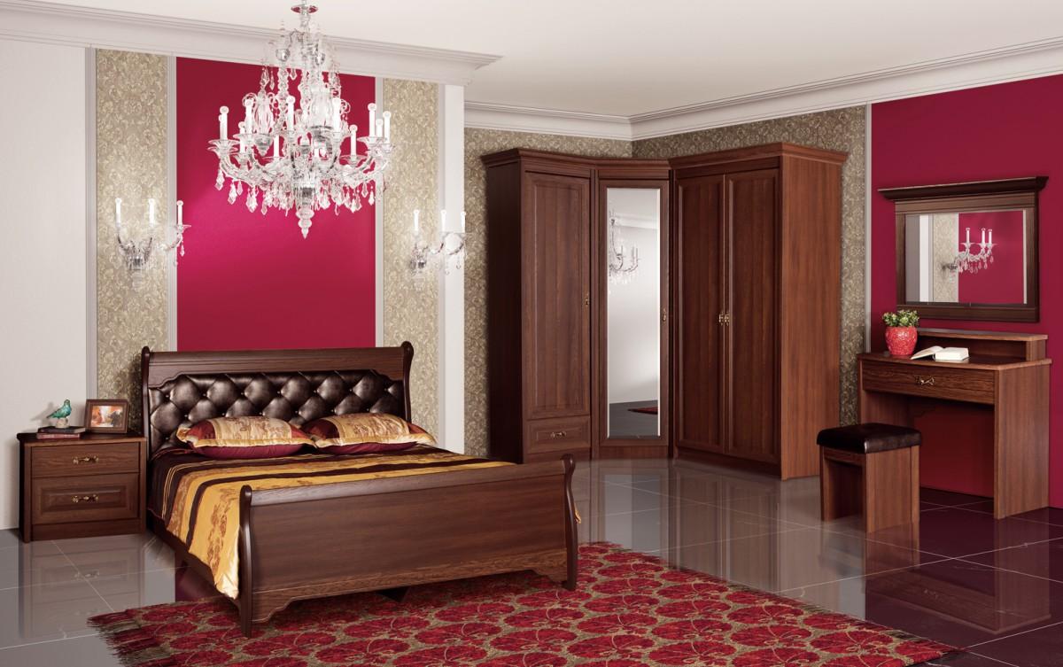 Спальня Флоренция (Дуб Оксфорд)
