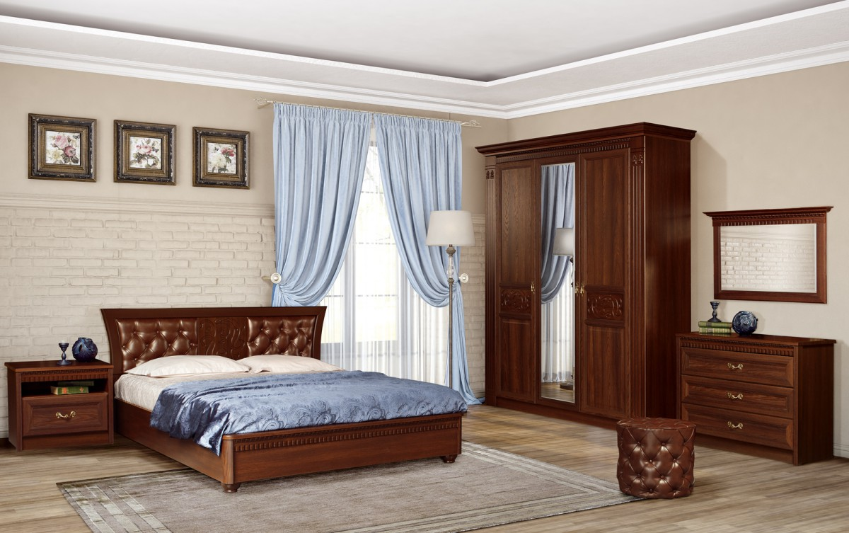 Спальня Лючия (Дуб Оксфорд)