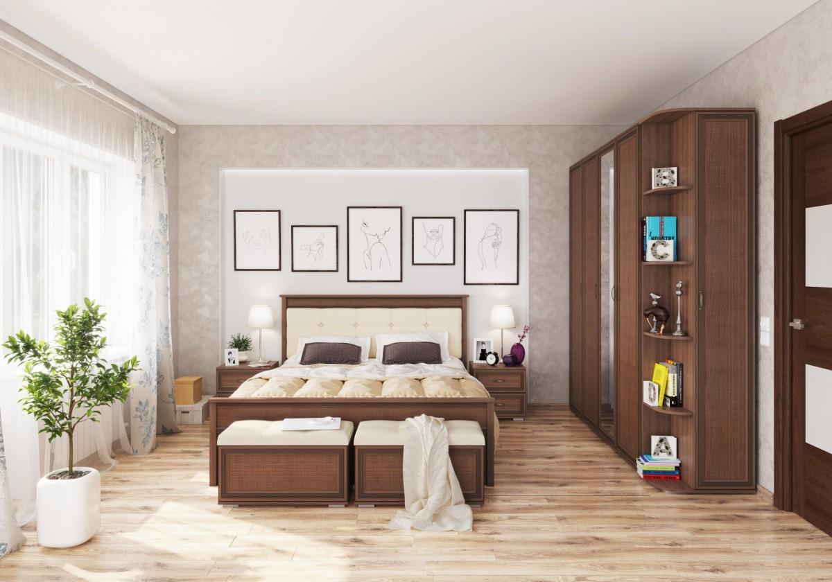 Спальня Ливорно (Орех Донской)
