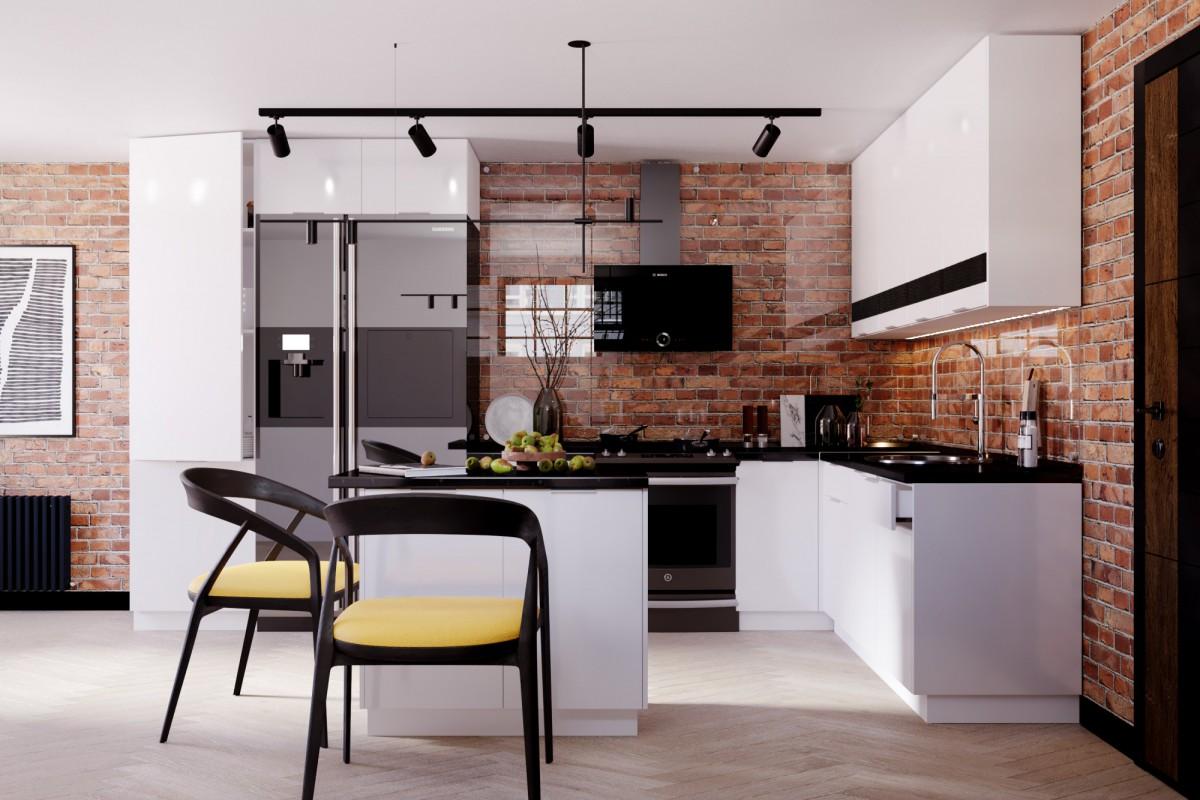 Кухня Teppa Gloss 1