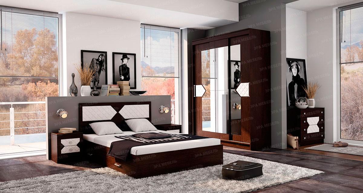 Спальня Николь (Дуб Венге)