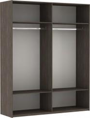 Шкаф купе Эста 2-х дверный (зеркало)